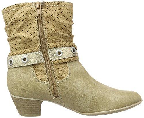 s.Oliver 25314, Bottes Classiques Femme Marron (Camel 310)