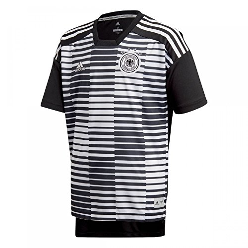 adidas Kinder DFB Pre-Match Shirt T, White/Black, 152