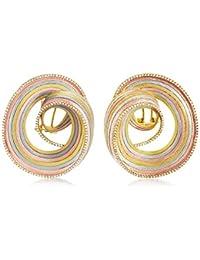 Shaze Opera Gold Brass Earrings for Women