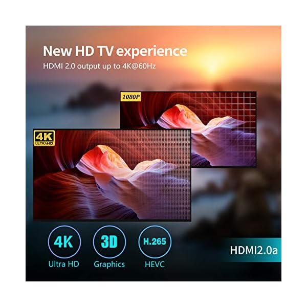 Bqeel-Android-90-Android-TV-Box-4GB128GB-Bluetooth-40-TV-Box-USB-30-U1-Max-RK3328-Quad-Core-64bit-Cortex-A53-Wi-FI-24G5G-LAN100M-4K-Android-Box-Smart-TV-Box-Botier-TV