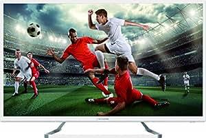 Strong SRT 32 HZ4003NW - 80 cm (32 Zoll) TV, blanc (HD ready, Triple Tuner (DVB-T2/-C/-S2), USB, EPG)