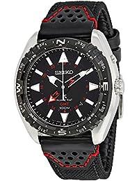 Seiko Herren-Armbanduhr Analog Automatik Leder SUN049P2