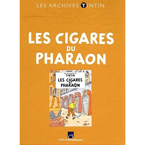 Tintin (Les Archives - Atlas 2010) - tome 14 : Les cigares du pharaon