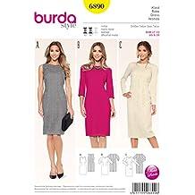 Patrón Burda 6890 Vestido