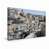 Calvendo Leinwand Arabisches Viertel 45x30cm, Special-Edition Wandbild, Bild auf Keilrahmen, Fertigbild auf Hochwertigem Textil, Leinwanddruck, Kein Poster