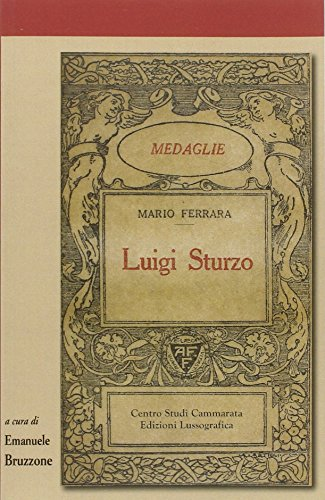 Luigi Sturzo (Sintesi e proposte) por Mario Ferrara