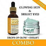 Bella Vita Organic Kumkumadi Combo Eye Cream for Women & Men Dark Circles