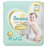 #5: Pampers Premium Care Pants Diapers, Medium, 22 Count