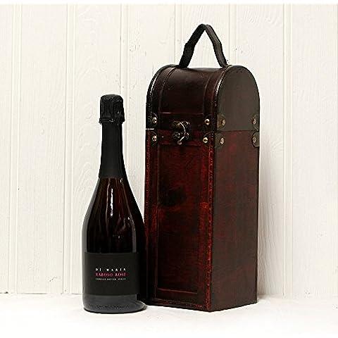 Di Maria espumoso vino Rosado en la antigua Caja de regalo