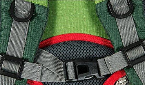 Moda per il tempo libero borse alpinismo esterno 30L campeggio trekking uomini e donne zaino di campeggio ( Colore : Arancia , dimensioni : 30L ) Grigio