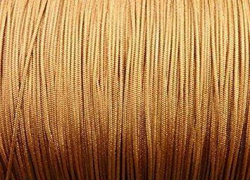 100 Pieds : 1,6 mm Cannelle professionnelle en nylon tressé Lift Cord/Stores et nuances
