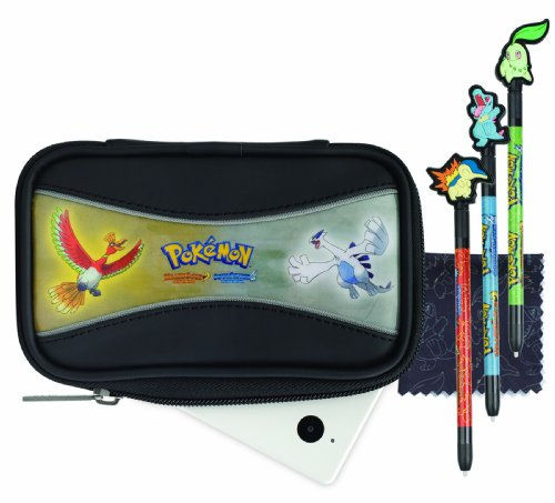 Nintendo DS - Pokemon HeartGold and Soul Essentials Accessory Kit, silber [UK Import]