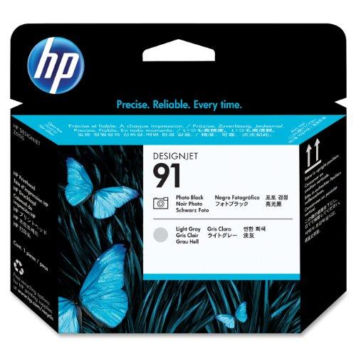 Preisvergleich Produktbild HP C9463A 91 Druckkopf foto schwarz und hell grau