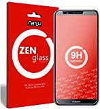 nandu I ZenGlass Flexible Glas-Folie für Huawei Honor 7c Panzerfolie I Bildschirm-Schutzfolie 9H I (Kleiner Als Das Gewölbte Bildschirm)