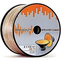 Cavo per altoparlante CCA di rame trasparente PVC dielettrica, Speaker