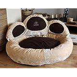Knuffelwuff Luena – Le matelas pour chien patte XL 95cm - beige - super moelleux
