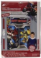 Amscan International 1.65 x 1.9 m Transformers Scene Setters Kits