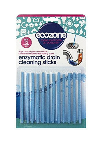 ecozone-enzymatic-drain-sticks-helps-to-prevent-blockages-forming-pack-of-2