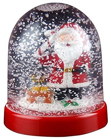 Christmas Snowglobe - Santa, Reindeer, Snowman or Penguin -