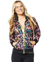 Zumba Fitness Damen Wt Outerwear High Beam Mesh Zip Up Jacket