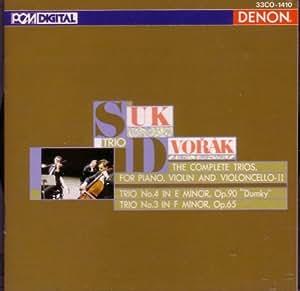 Dvorak: Piano Trios Op. 90/ Op. 65 (UK Import)