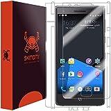 Skinomi TechSkin - Protection BlackBerry Motion - Films invisibles avant et arrière : protection de l'écran et du dos | Protecteur ultra-résistant et facile à installer
