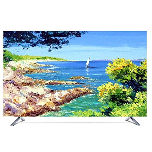 NACHEN TV Staubschutz Abdeckung LCD hängende Staub Abdeckung Fernsehapparat Hauben Gewebe Haushalts Waren Staubdichte Abdeckung (Color 17, 50)
