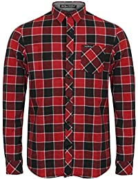 Tokyo Laundry Hommes Designer Coton Imprimé Flanelle vérifier Chemise S-XL  CADILLO 0e3a029a8808