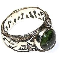 Moldavit Ring Schmuck - Sterlingsilber - Elf Design moldr16a03 preisvergleich bei billige-tabletten.eu