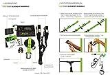 eaglefit® Sling Trainer ALLROUND; Schlingentrainer mit Umlenkrolle, Türanker, Aluminium-Karabiner - 4