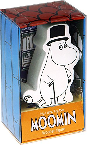 Barbo Toys – 6732 – Moomins Pappa My Little Toy Box con figura de madera
