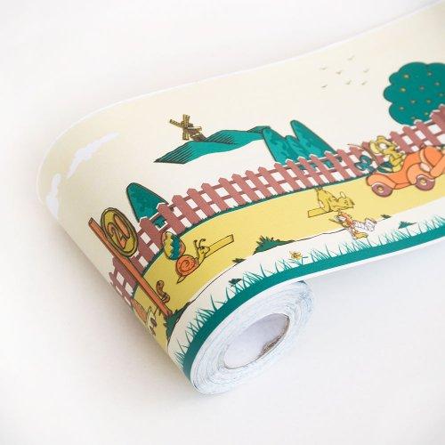 Printemps - Autocollants bordures Home Decor Papier peint (rouleau)