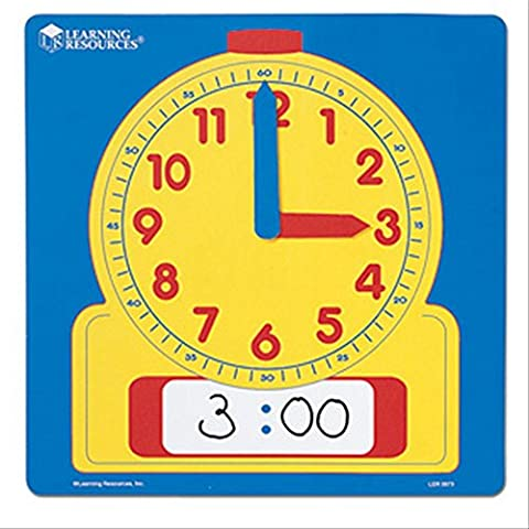 Learning Resources Wipe-Clean Demonstration Clock
