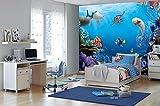 Komar 8–497368x 254cm Disney Finding Dory Wallpaper murale–multicolore (confezione da 8)