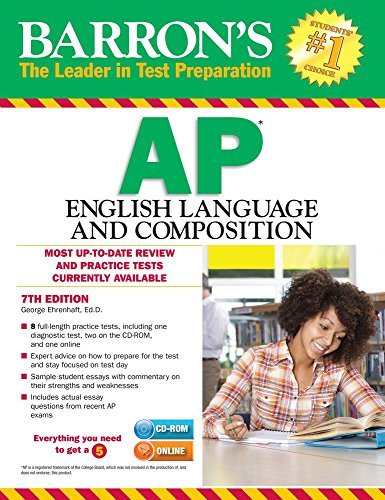 Barron's AP English Language and Composition , 7th Edition (Barron's Ap English Language & Composition)
