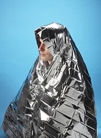 5 x Foil Survival Blanket reflective thermal first aid 1st