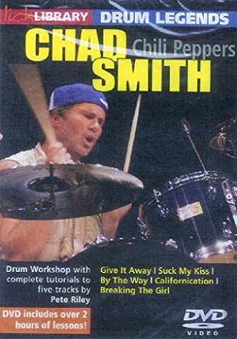 Lick Library: Drum Legends - Chad Smith [DVD]