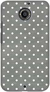 DailyObjects Dark Gray Swiss Dots Mobile Case For Motorola Moto X2