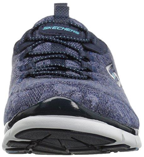 Skechers Damen Gratis-Lacey Sneakers Blau (Nvy)