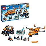 LEGO 60196 City Arctic Expedition Supply Aeroplane Toy, Ice Explorer Set with Tracked Vehicle and Tiger Figure, for Kids 7-12 Years Old