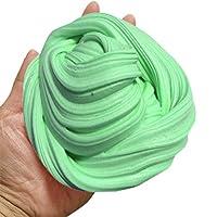 Xinan Fluffy Floam Slime alivio de estrés perfumado No Borax niños juguetes Verde