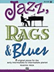 Jazz, Rags & Blues, Book 2: 8 Origina...