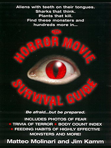 The Horror Movie Survival Guide (English Edition) - Halloween-kamm