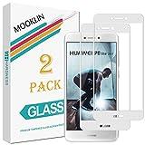 MOOKLIN Huawei P8 Lite 2017 Protector de Pantalla,[2 Piezas] [Cobertura Completa] [Anti-Rasguños]...