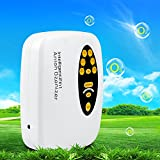 Ozone Generator Hug Flight® 2 in 1 Cycle 400mg Digital Air and Water Purifier Plug-In Kill Odor Smell Remover Sterilizer Anion Ion Ozonizer