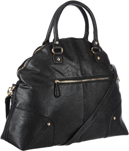 PIECES - OLYA BAG NEW, Borsa a mano Donna Nero (Schwarz (BLACK.))