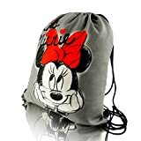 Disney Minnie Mouse DREAM COLLECTION bolsa con cordón bolsa de zapatos