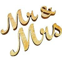 jysport Madera letras boda Decoración Mesa Decoración Boda Decoración Letras Valentines regalo zeremonielle Décor (Mr