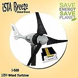 Komplet Paket ISTA-BREEZE® i-500 12V WIND GENERATOR