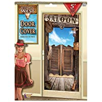 Forum Novelties X75935 Way Out West Door Cover, Multi-Colour, One Size